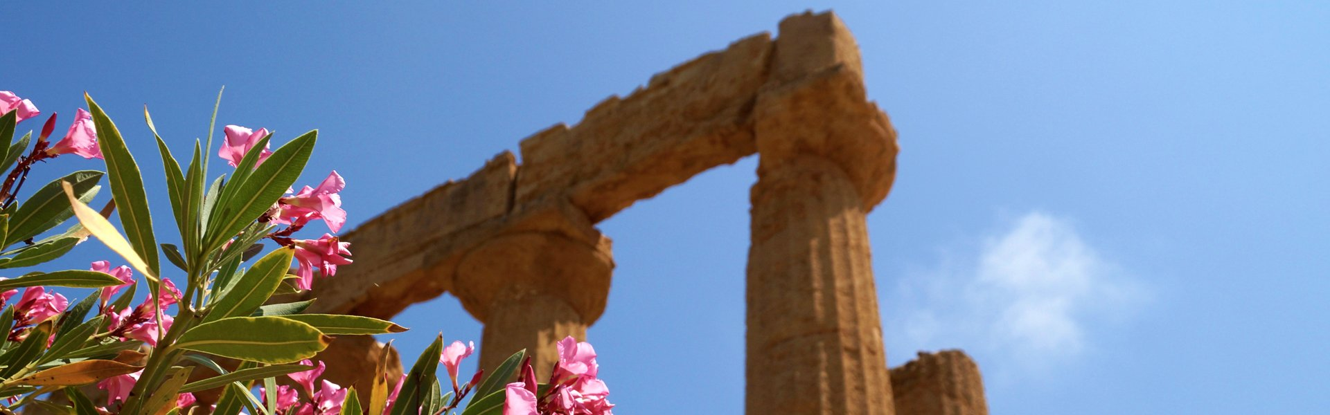 Agrigento op Sicilië, Italië