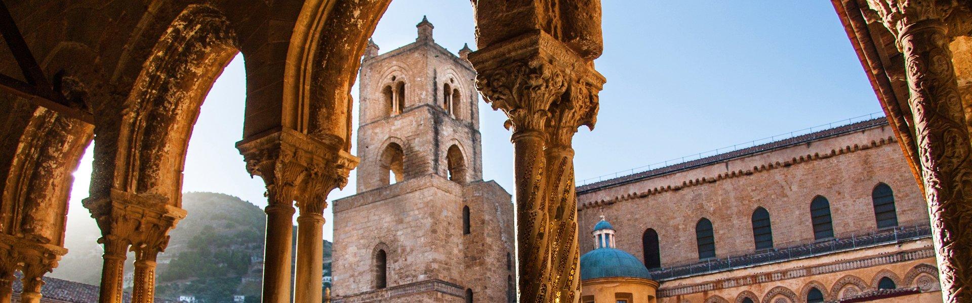 Monreale op Sicilië, Italië