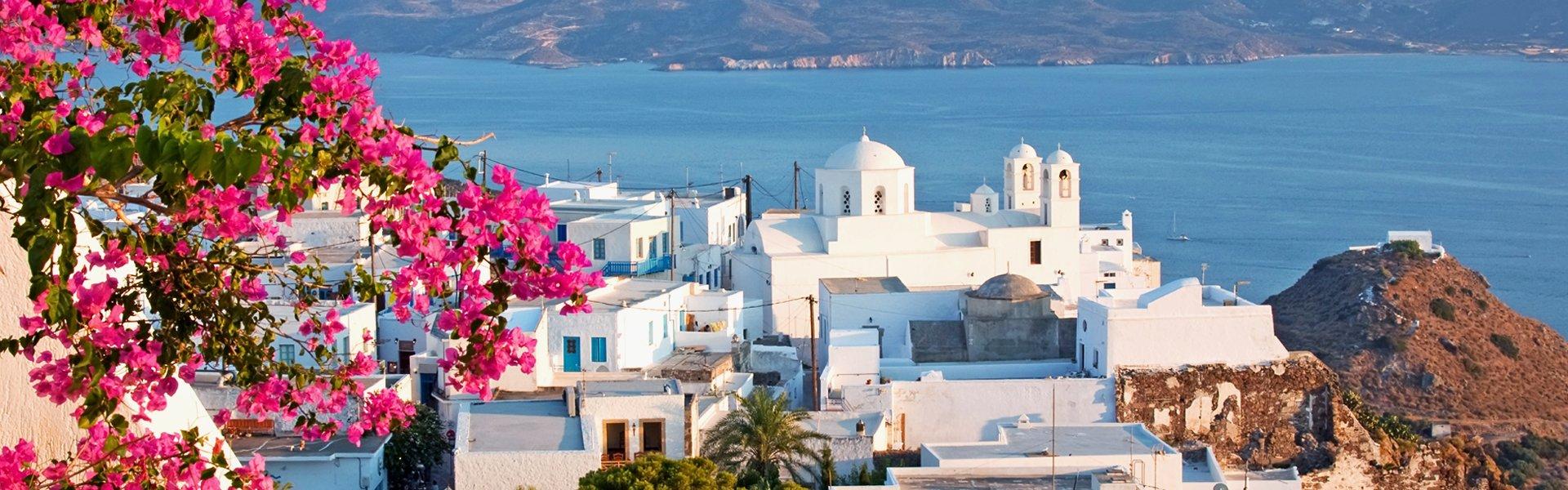 Milos op de Cycladen, Griekenland