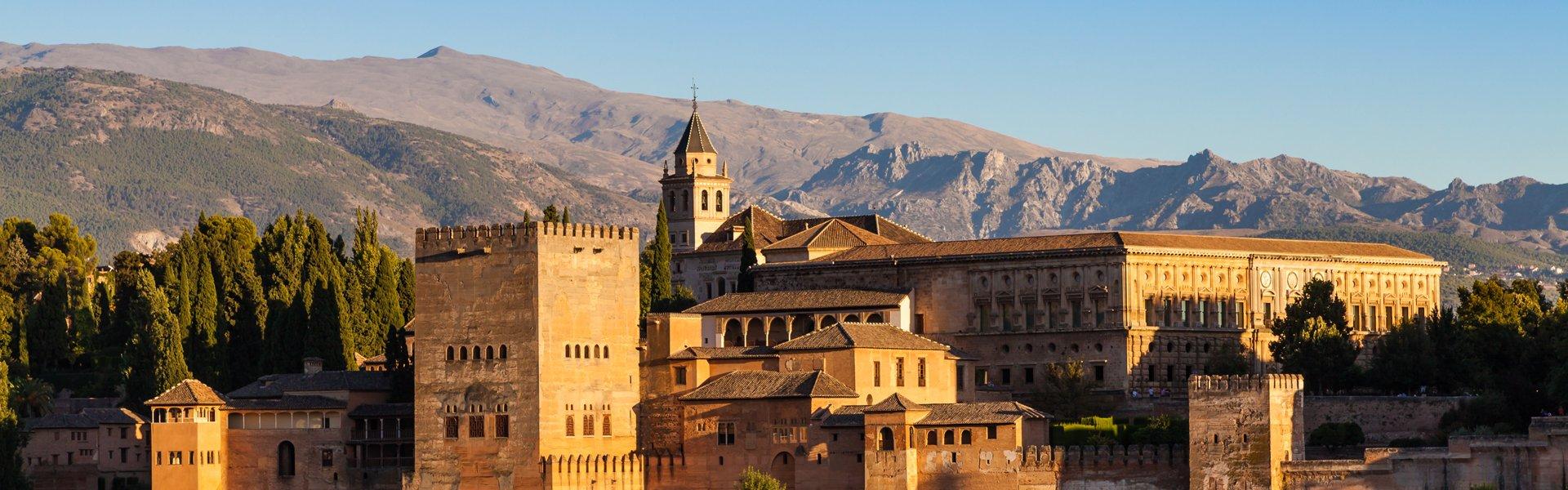 Alhambra in Grana, Andalusië, Spanje