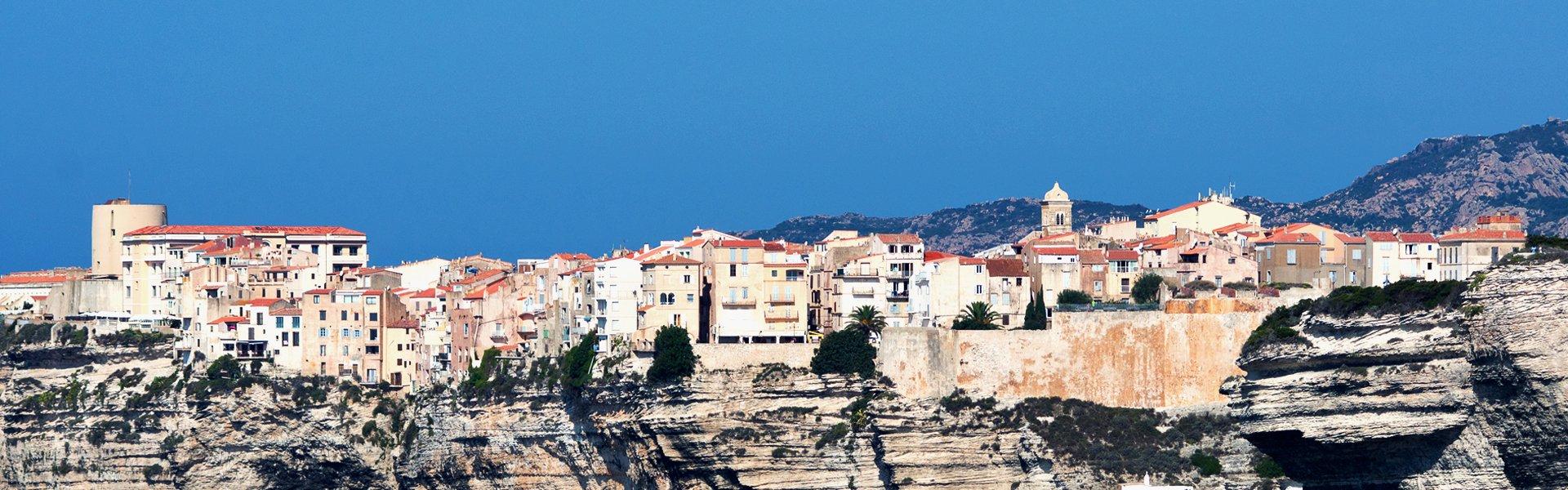 Bonifacio op Corsica, Frankrijk