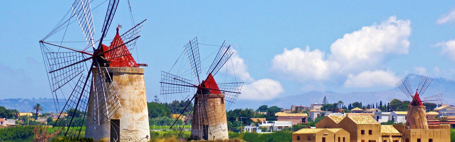 Trapani op Sicilië, Italië