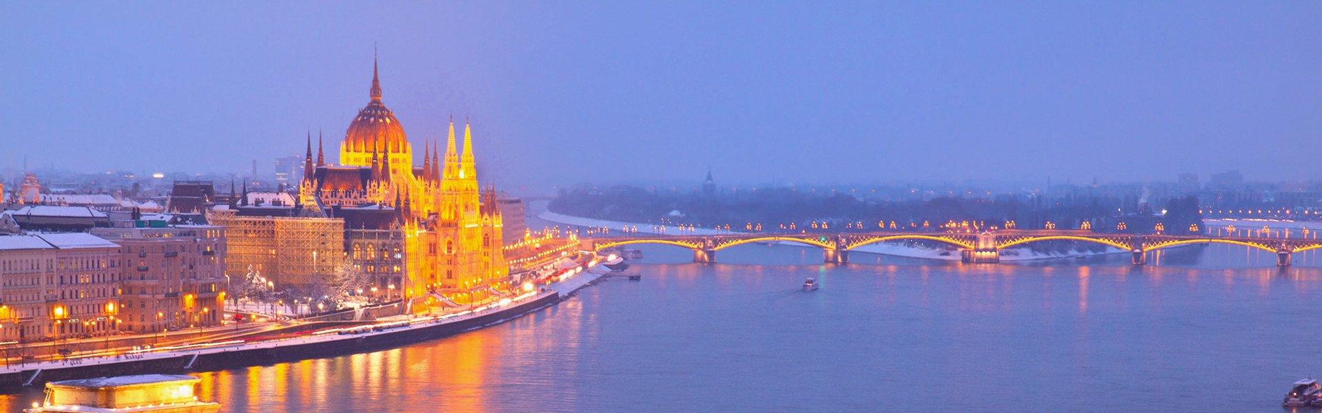 Kerst in Boedapest, Hongarije