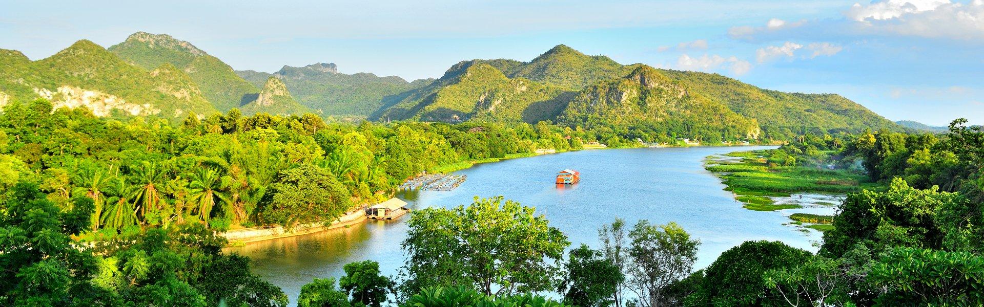 Mekong-rivier, Thailand