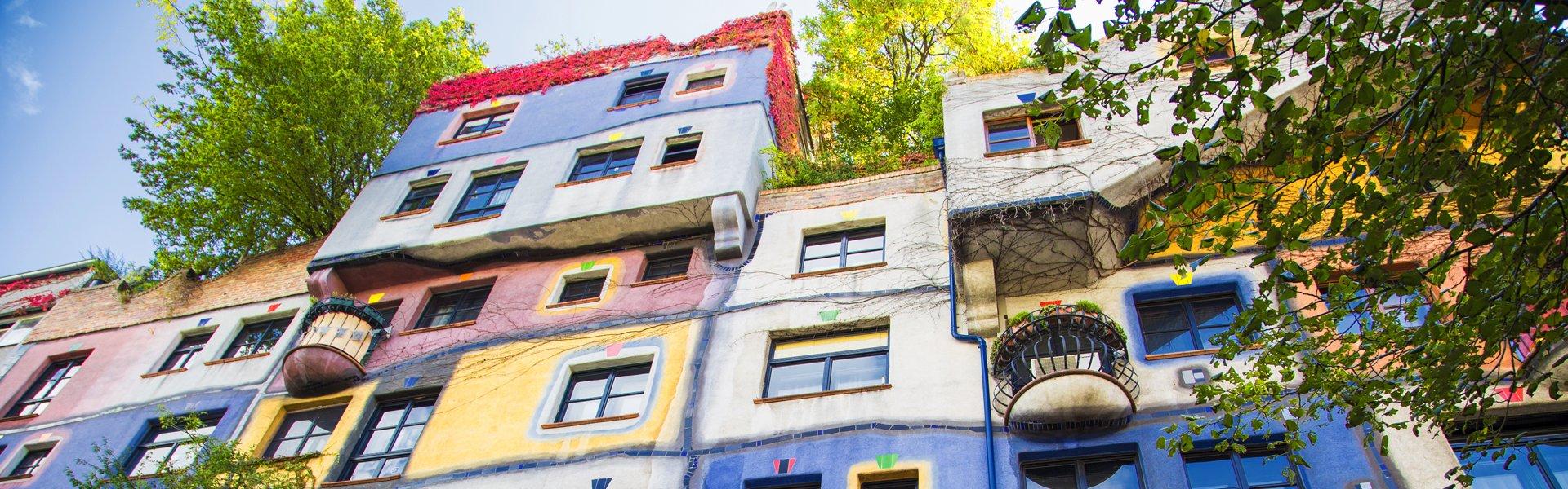 Hundertwasser in Wenen, Oostenrijk