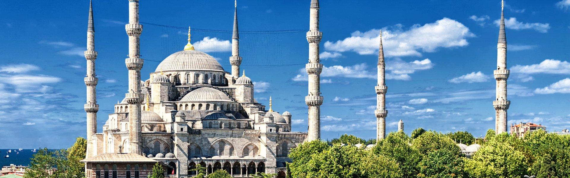 Blauwe Moskee in Istanbul, Turkije