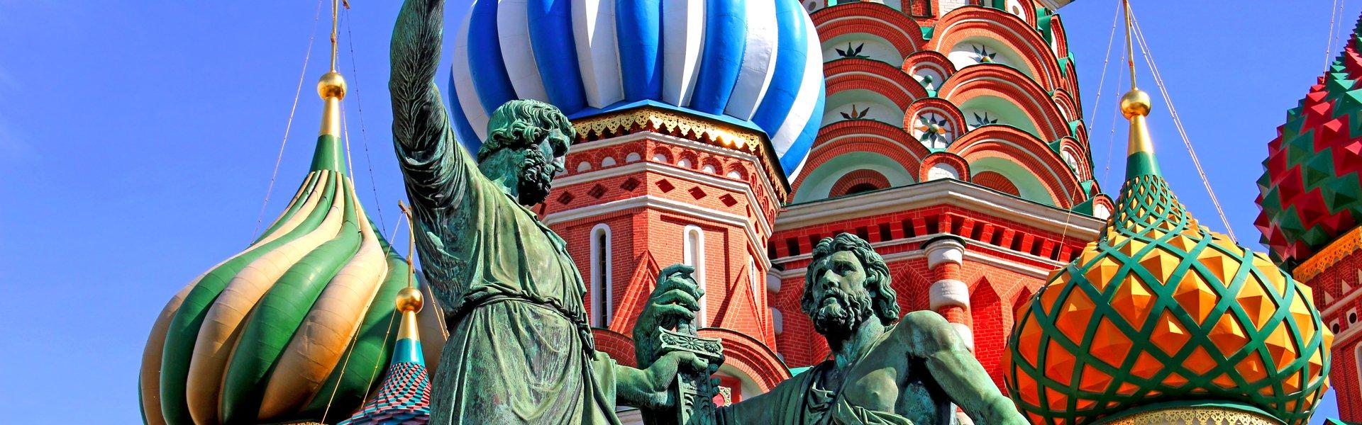 Wasiliuskathedral op het Rode Plein in Moskou, Rusland
