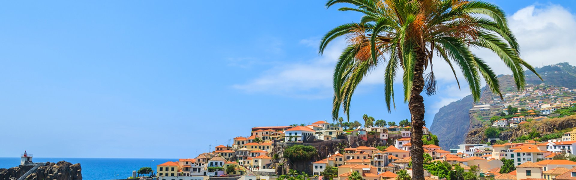 Zicht op Funchal, Madeira, Portugal