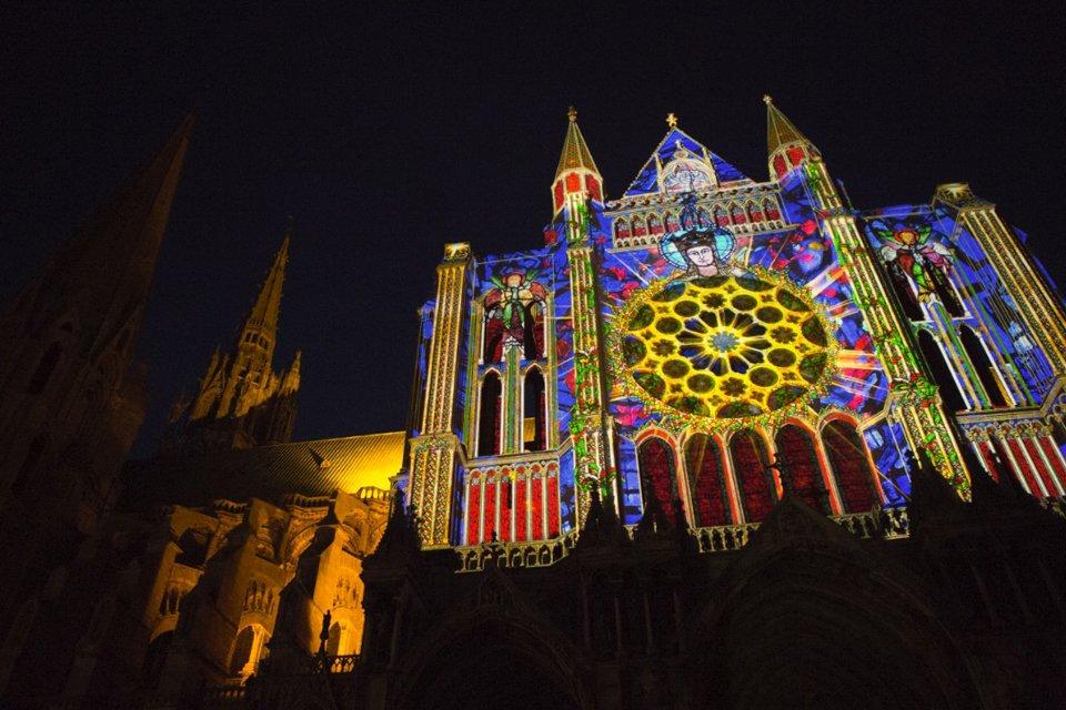 SRC-reizen: Chartres en Lumières