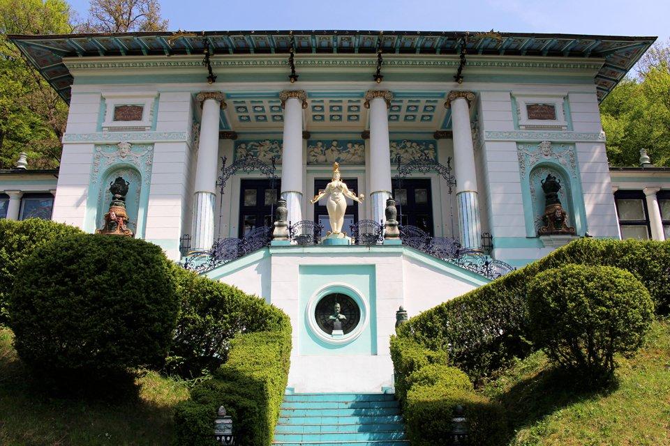 Wagner villa I, Oostenrijk
