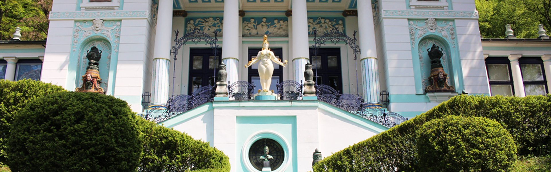 Villa Wagner II in Wenen, Oostenrijk