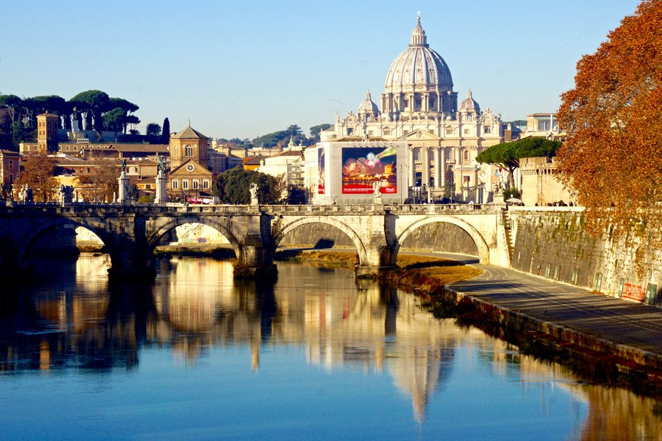 SRC-reizen: Kerstsfeer in Rome