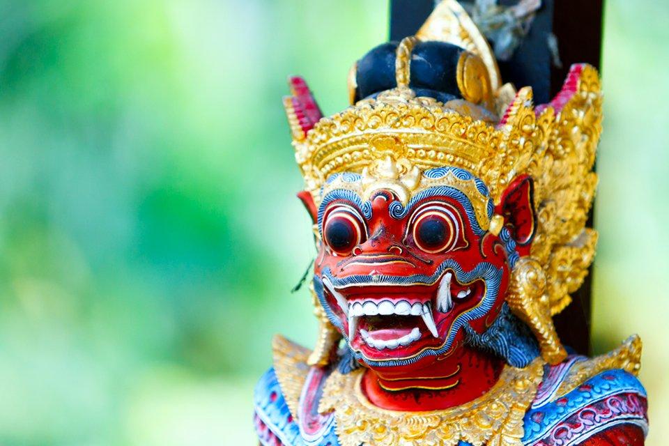Traditioneel Balinees beeld, Indonesië