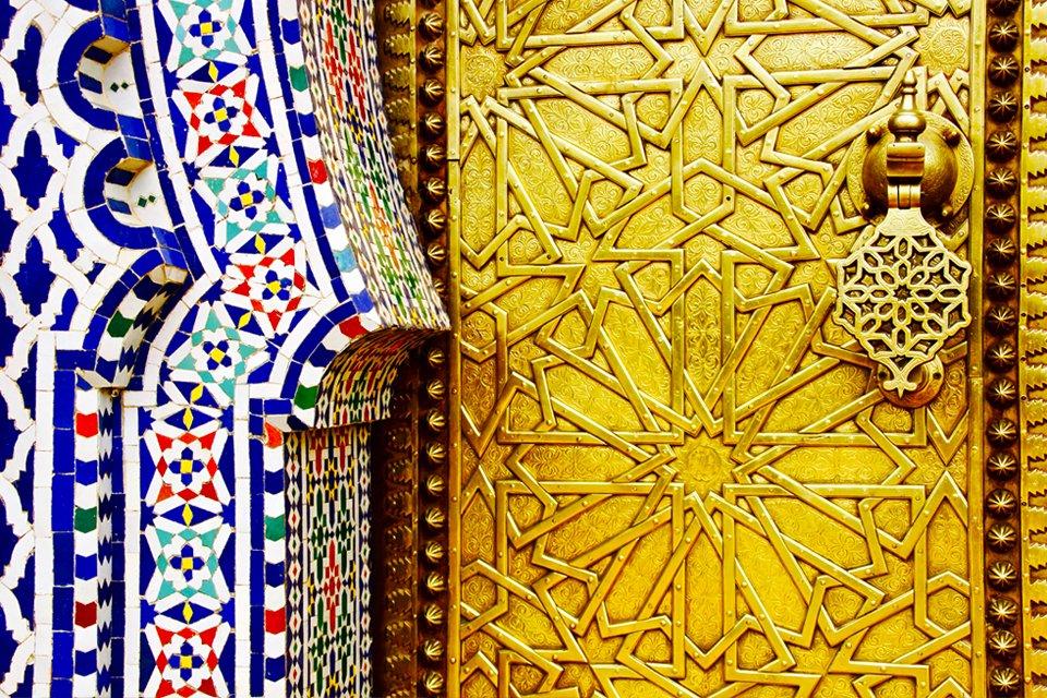 Koninklijk palies in Fès, Marokko