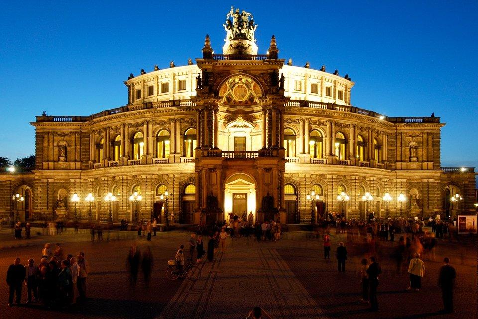 SRC-reizen: Opera in Dresden