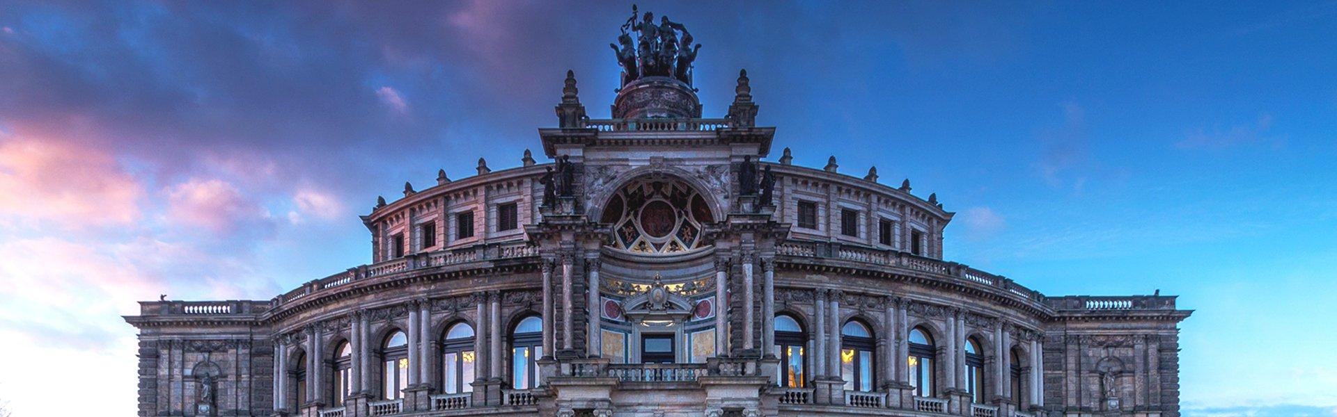 Semperoper in Dresden, Duitsland