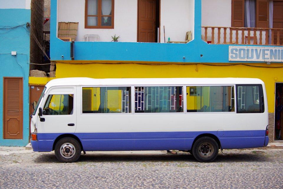 Bus op Kaapverdië