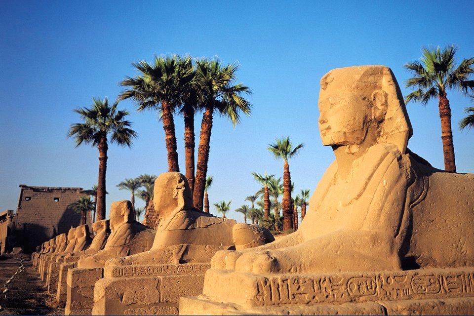Tempel van Luxor, Egypte