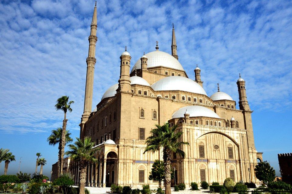 Mohammed Ali-moskee in Cairo, Egypte