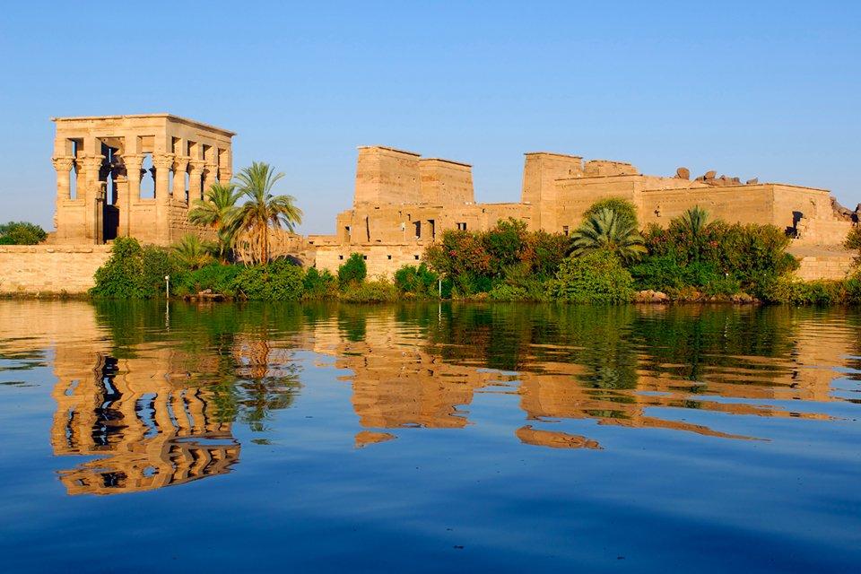 Phileatempel in Aswan, Egypte
