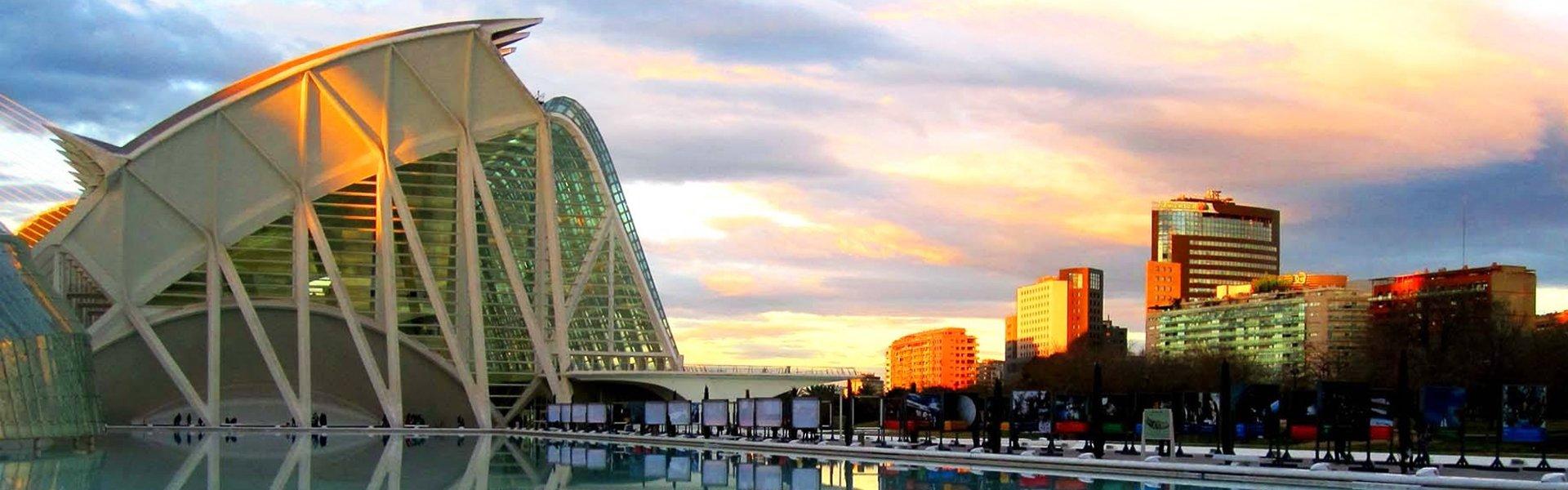Stad van de Kunst en de Wetenschap in Valencia, Spanje