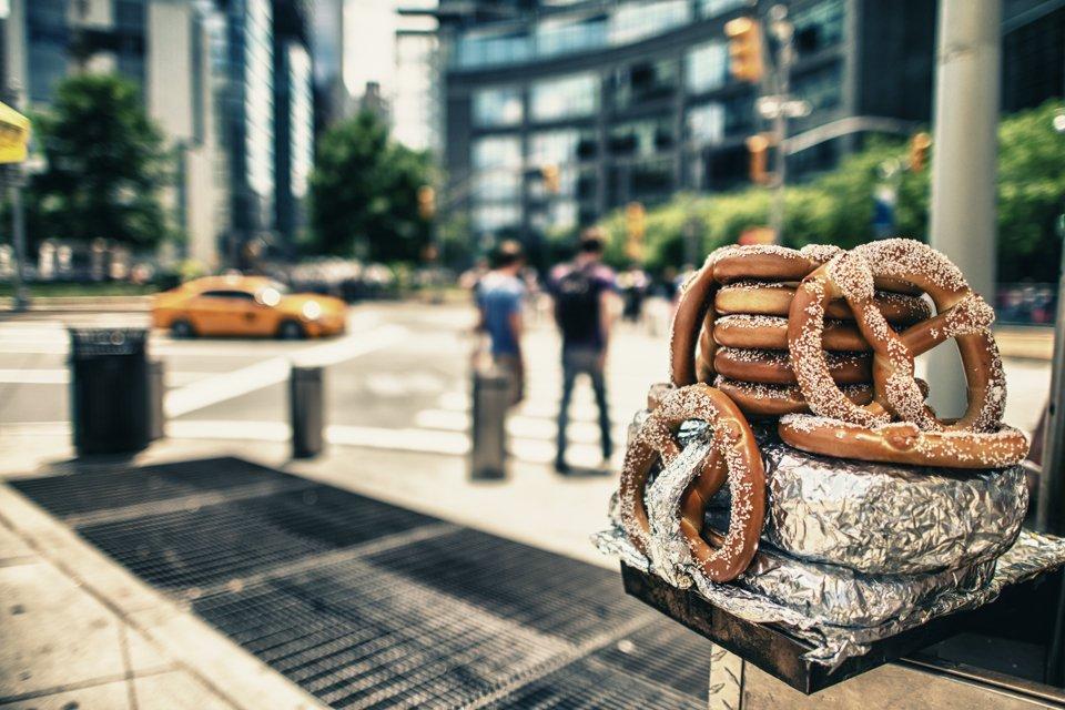 Straatbeeld in New York, Amerika
