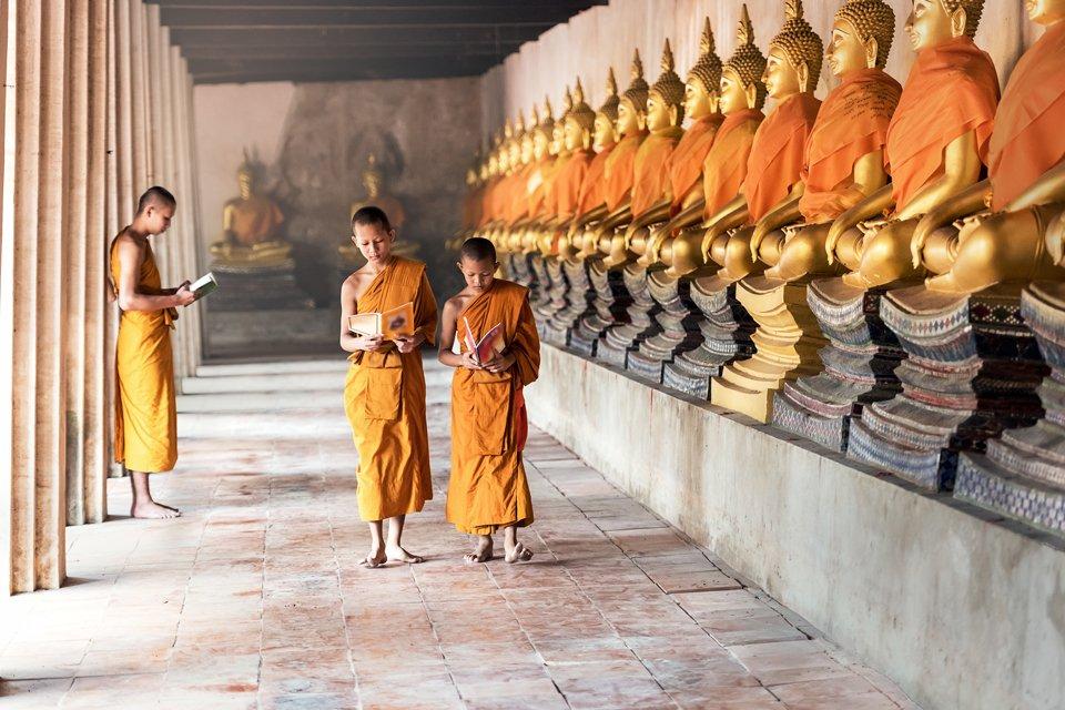 Jonge monniken, Cambodja