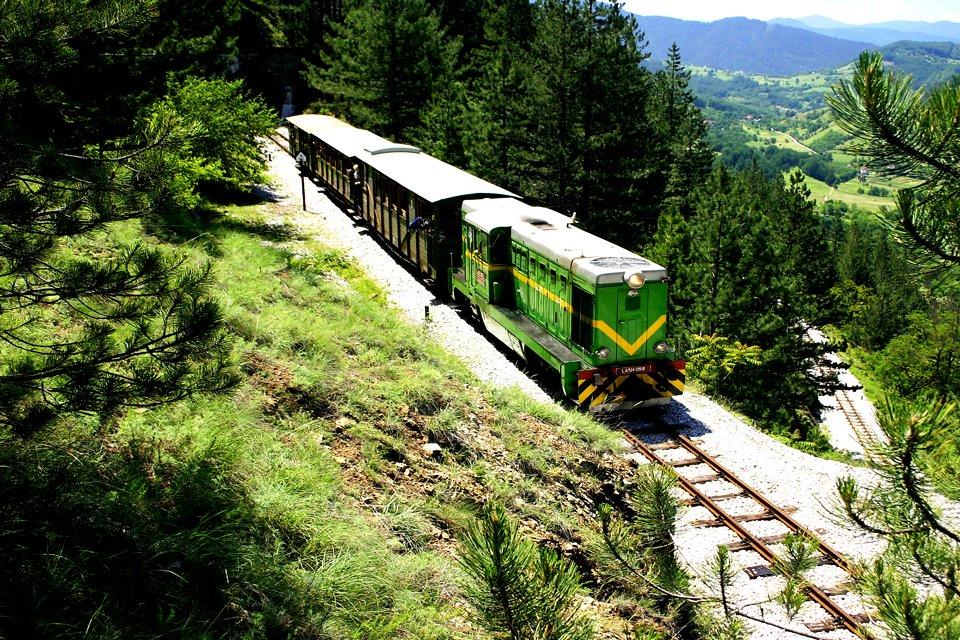 Sargan Eight trein, Servië