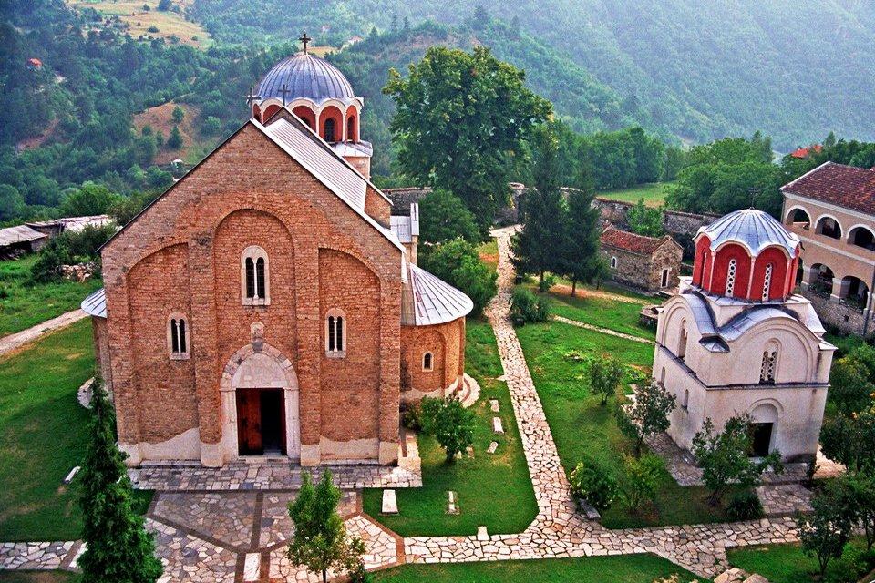 Studenica Monastery, Servië
