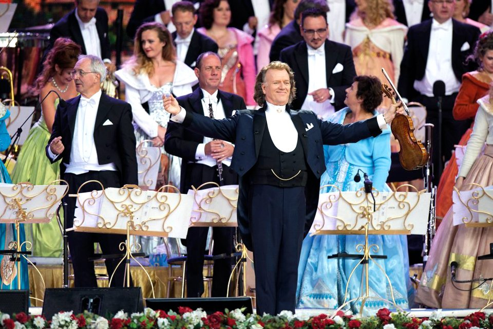 André Rieu in Wenen, Oostenrijk (Copyright © 1999 - 2019 André Rieu Productions BV - All Rights Reserved)