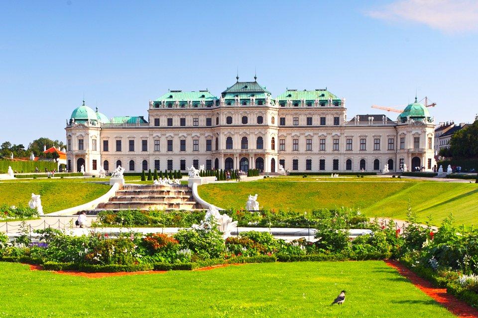 Belveder in Wenen, Oostenrijk