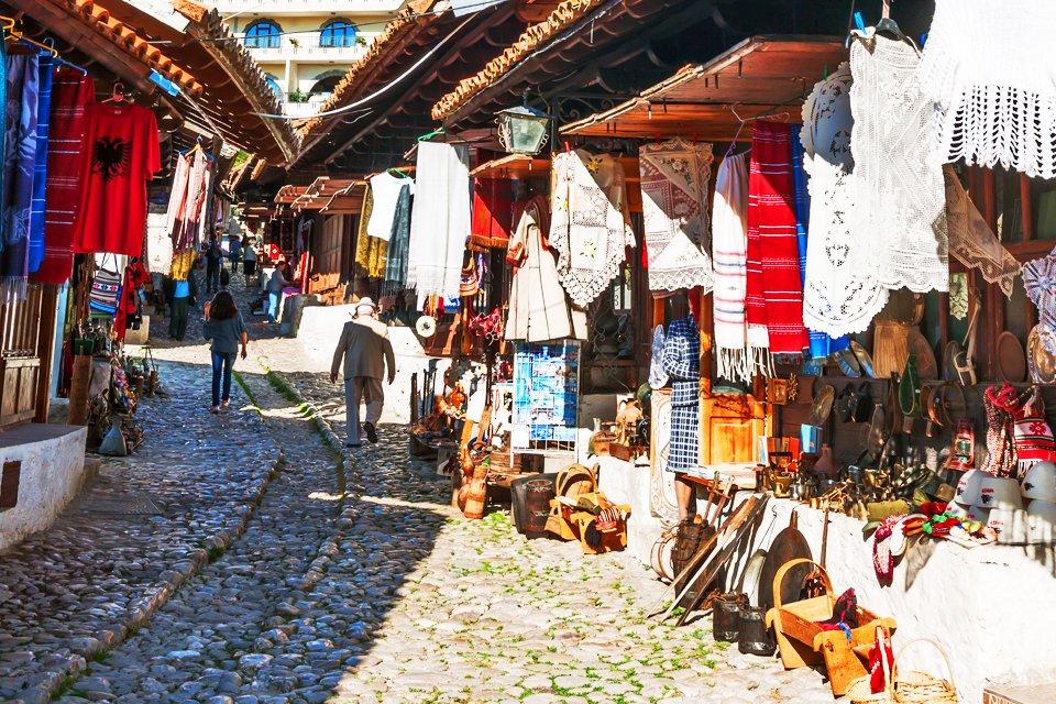 Kruje, Albanië