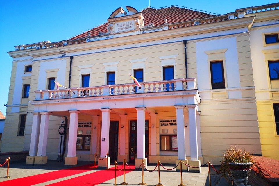 Thalia-concertgebouw in Sibiu, Roemenië