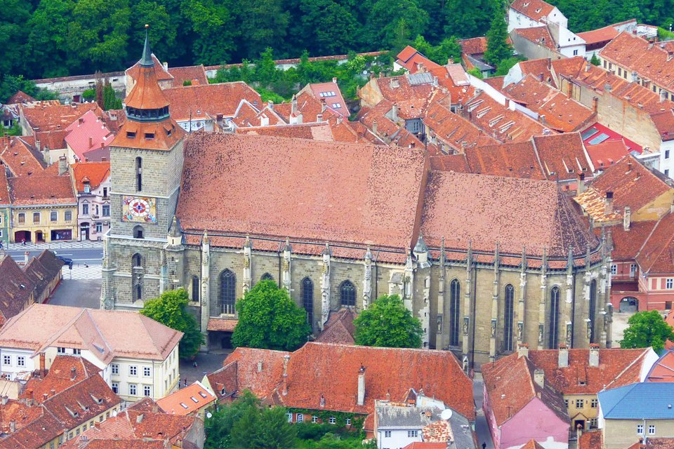 Zwarte Kerk in Brasov, Roemenië