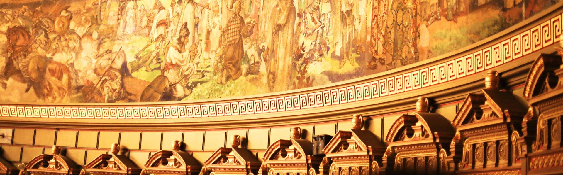 Operagebouw in Boekarest, Roemenië