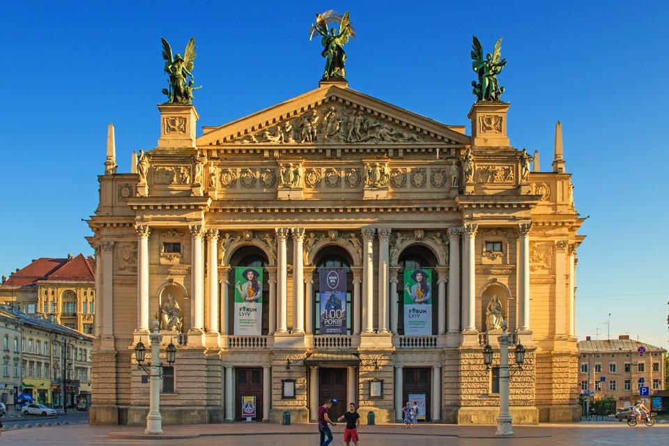 Opera in Lviv, Oekraïne