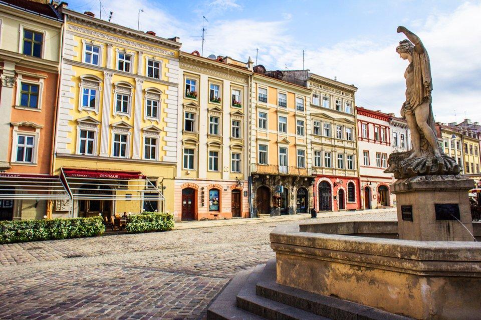 Rynek plein, Oekraïne