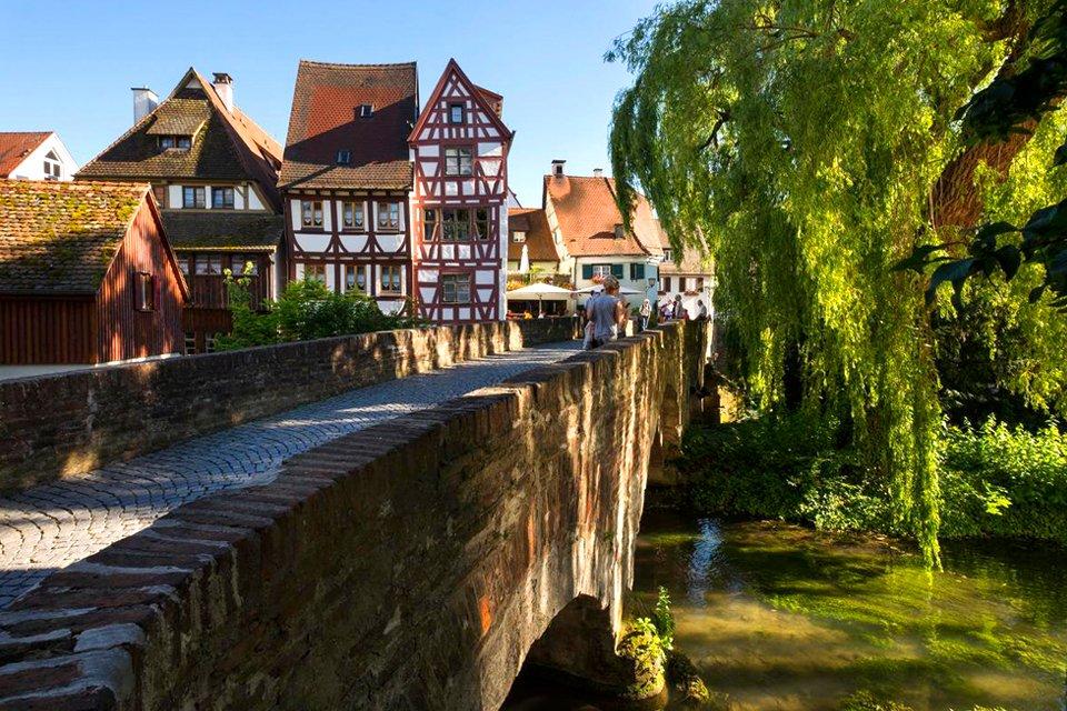 Oude binnenstad van Ulm, Duitsland