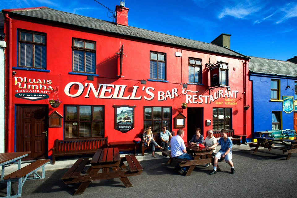 Een pub in Beara, Ierland