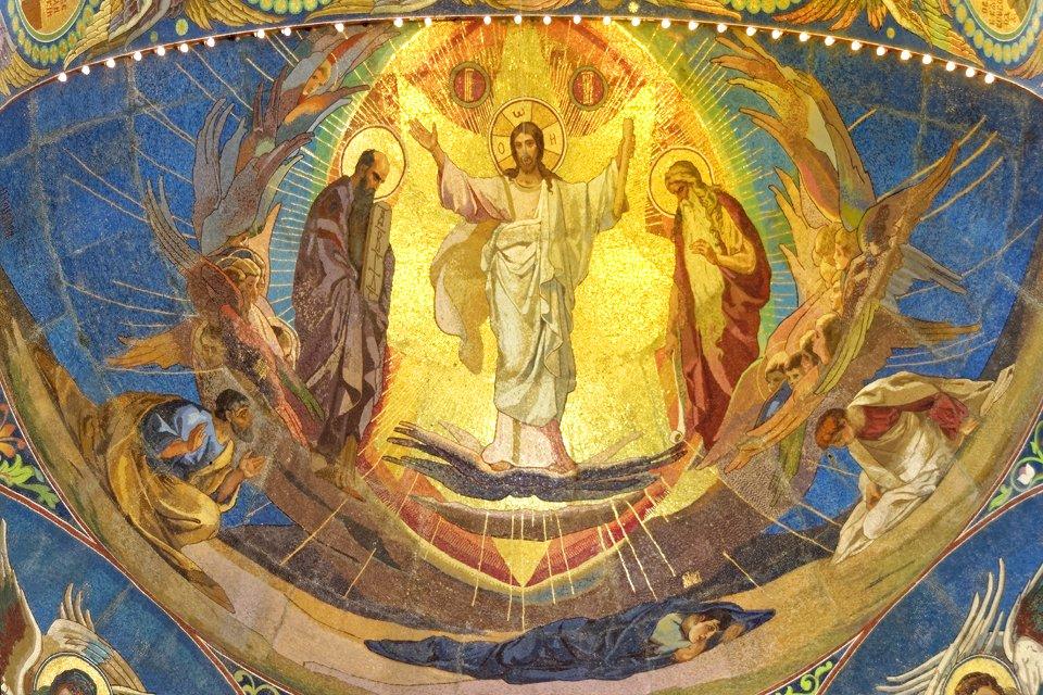 Mozaïek van Jezus, Rusland