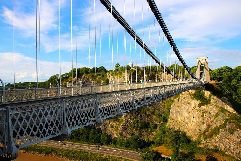 Clifton Suspension Bridge in Bristol, Groot-Brittannië