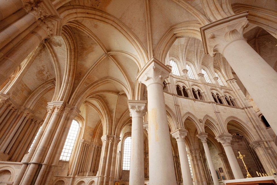 Basiliek Sainte Marie Madeleine van Vézelay, Frankrijk