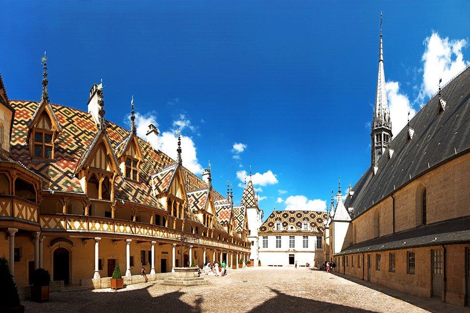 Beaune hotel Dieu, Frankrijk
