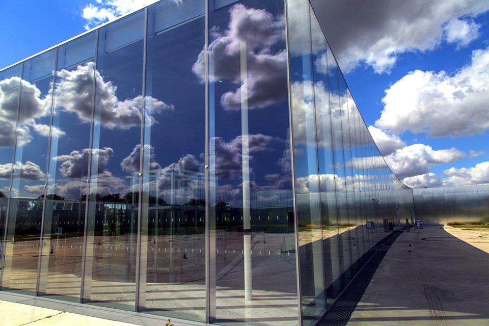 Het Louvre in Lens, Frankrijk