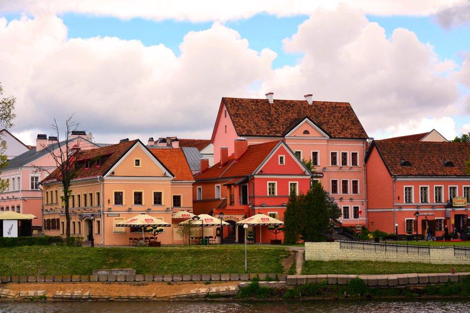 Huisjes in Minsk, Wit Rusland