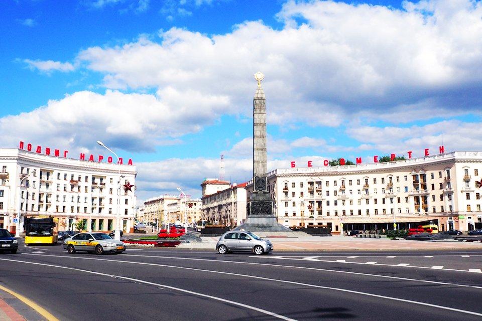 Overwinningsplein, Wit-Rusland