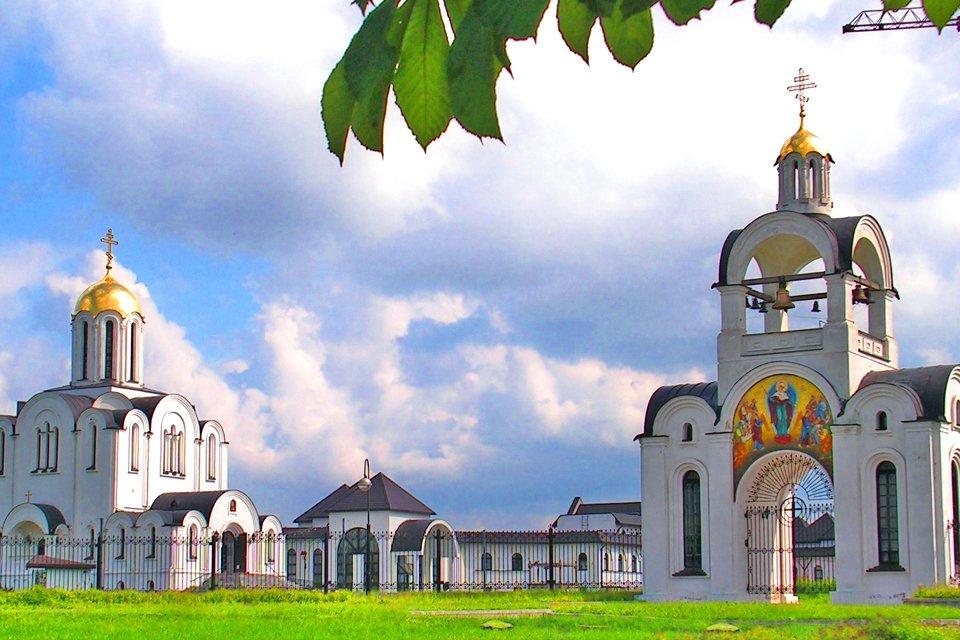 Kerk in Minsk, Wit-Rusland
