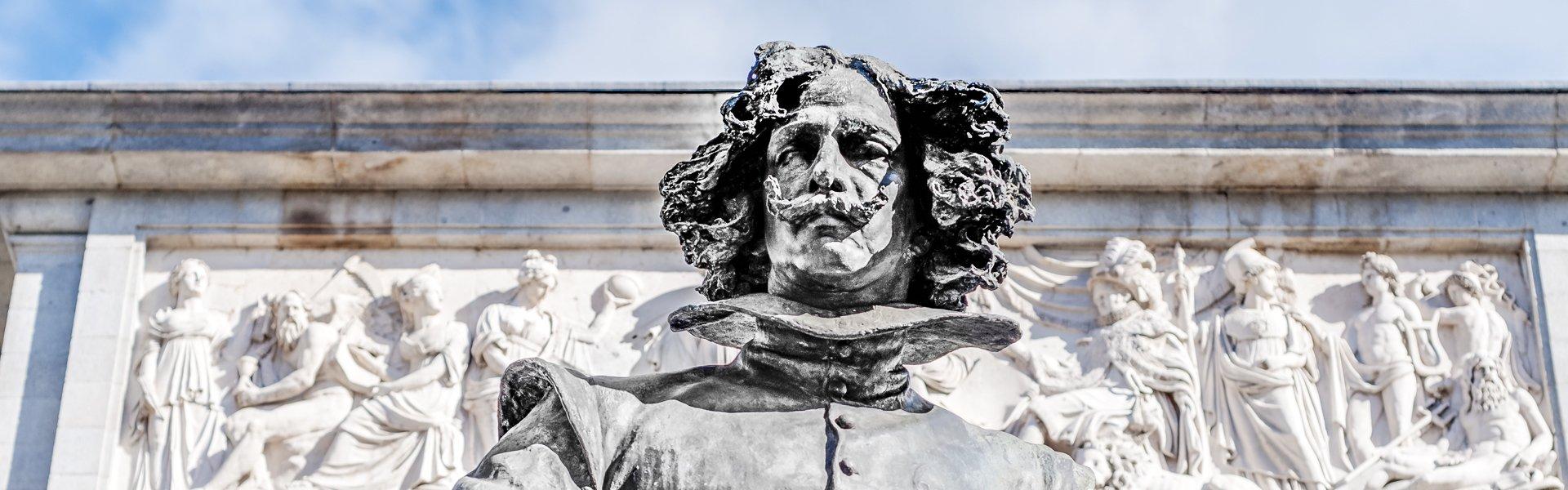 Standbeeld van Velázquez, Spanje
