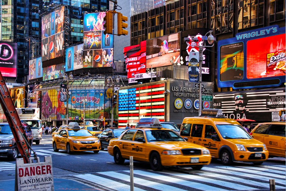 Times Square in New York, Amerika