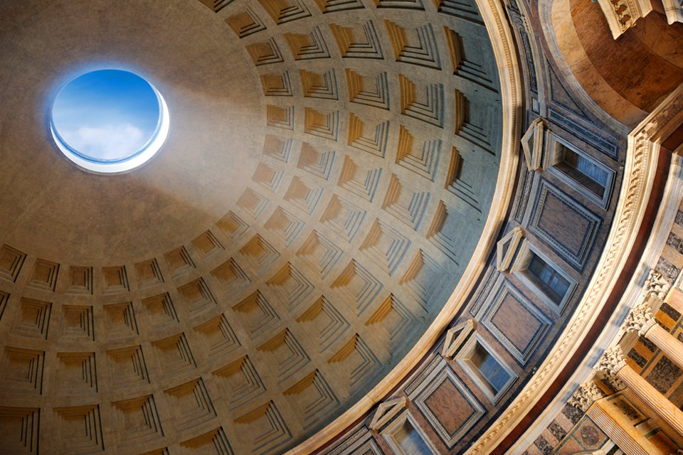 Pantheon in Rome, Italië